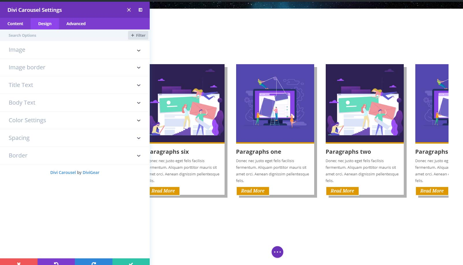 Divi Carousel Module | Divi Plugins & Divi Child Themes