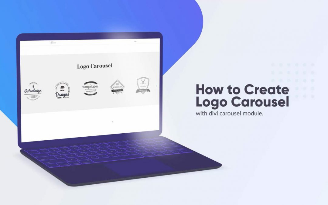 How to create the logo carousel with Divi Carousel Module