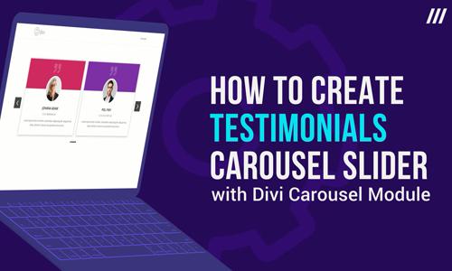 Divi Carousel Module | Divi Plugins & Divi Child Themes